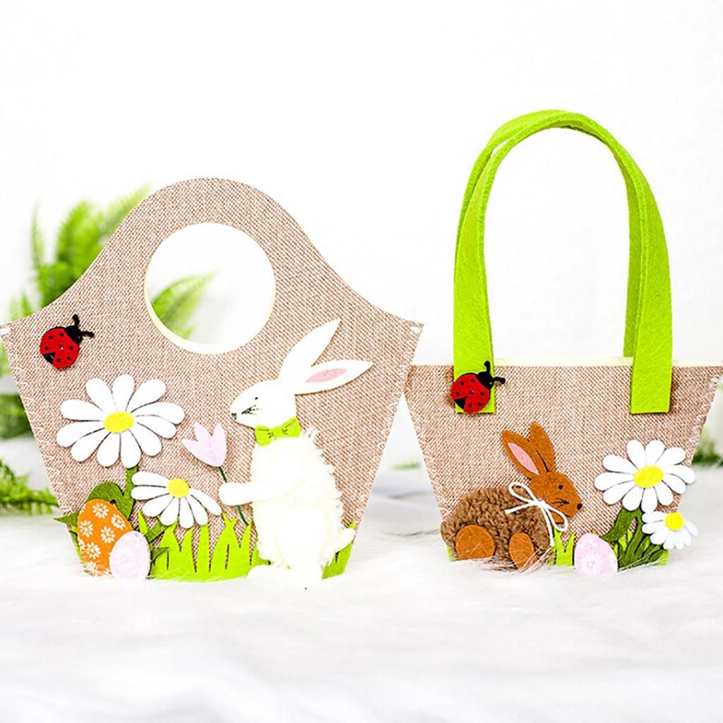 Пасхальная сумка для яиц (Коричневый кролик)