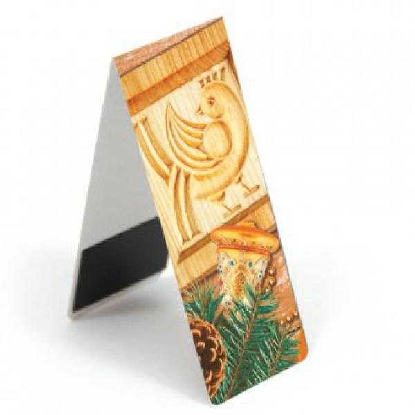Магнитная закладка «Рождественский мотив»