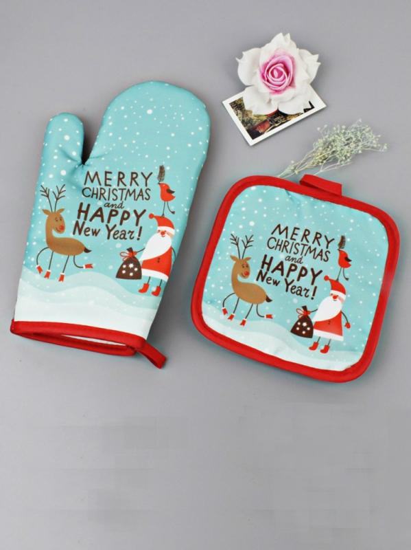Рождественская прихватка (Marry Christmas & Happy New Year)