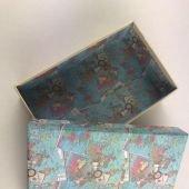 Подарочная коробка Карты мира 18.5 х 11.5 х 5.5см. Поздравляю!