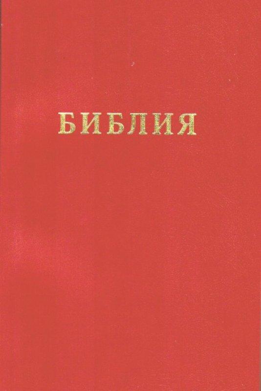 Библия (Вишневая из бумвинила)