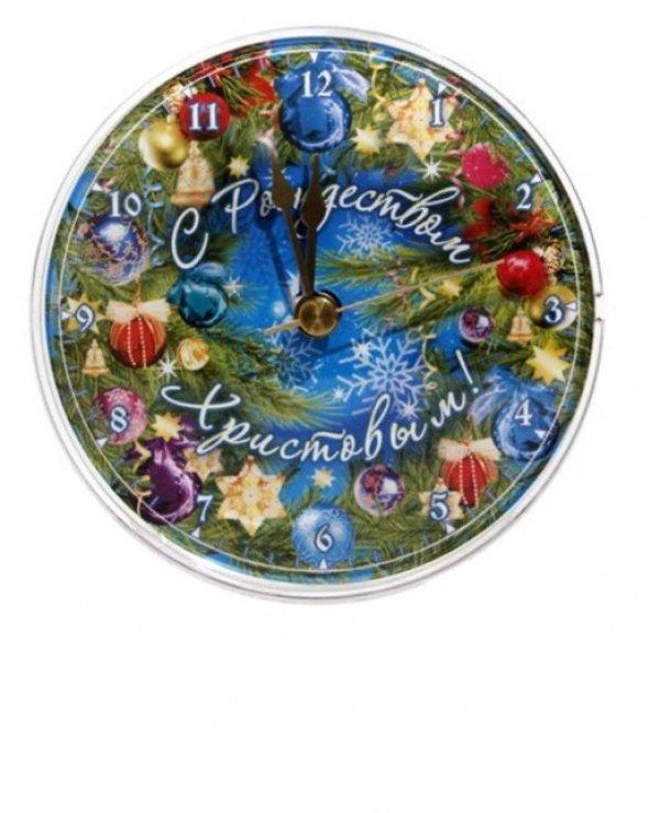 Часы на магните  (С Рождеством Христовым!)