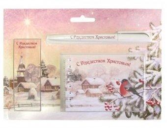 Рождественский подарочный набор «С Рождеством Христовым!». Снегирь