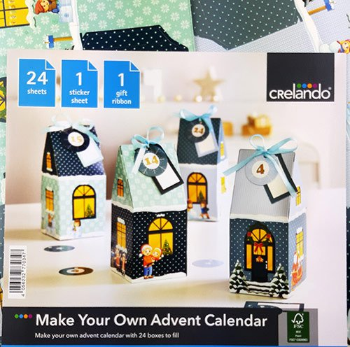 Адвент-календарь «Домики»