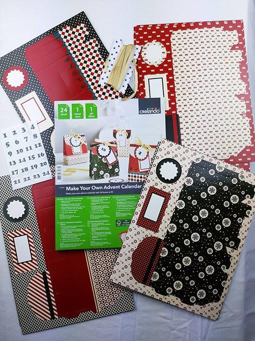 Адвент-календарь «Бумажные пакетики»